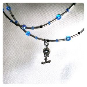 *3 for $25* Tweety dual wire necklace